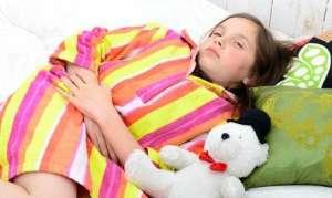 У ребёнка болит живот и рвота