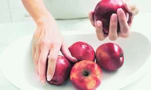 Употребление яблок в пищу при язве желудка