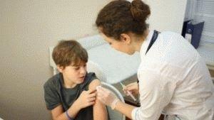 Лечение детей инъекциями