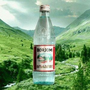 Вода Borjomi из Грузии