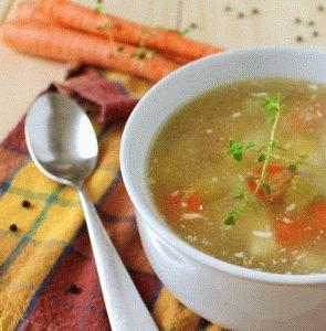 Рецепт супа при обострении панкреатита