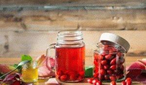 Отвар на ягодах шиповника