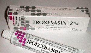 Троксевазин таблетки при геморрое