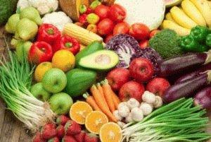 Выбор фруктов и овощей