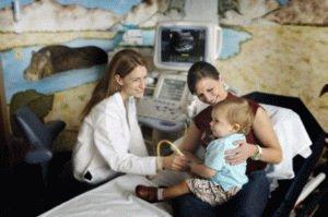 УЗИ исследование ребенку