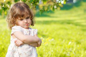 Упрямый характер ребёнка