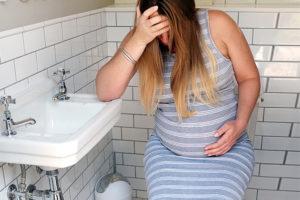 Запор у беременной