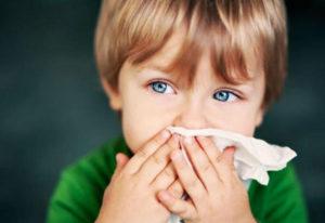 Заложенность носа у малыша