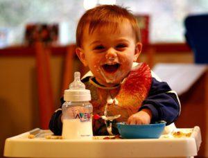 Рацион годовалого ребёнка