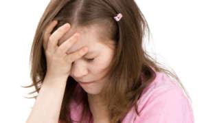 У ребёнка болит голова и рвота