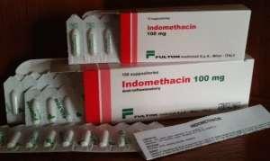 Свечи Индометацин при геморрое