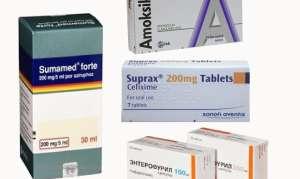 Антибиотики при кишечной инфекции