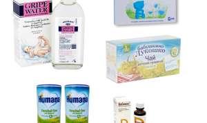 Лекарства от колик у новорождённых