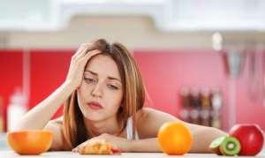 Запор при диете