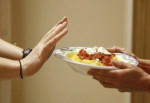 Снижение аппетита у больного