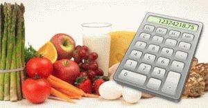 Расчёт калорий при язве желудка