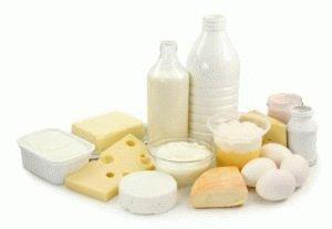 Любимые молочные продукты