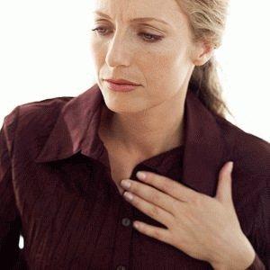 Симптоматика при язве пищевода