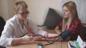 Скачок давления у пациента