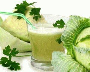 Целебный капустный сок