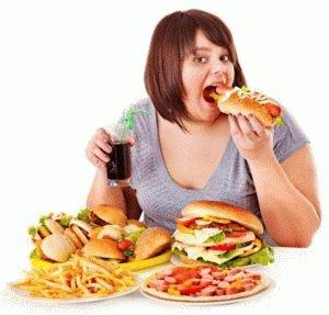 Неверный рацион питания