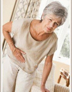 Больной гастритом