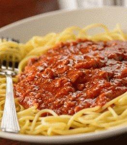 Жирный соус к макаронам