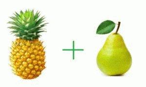 Груши и ананасы