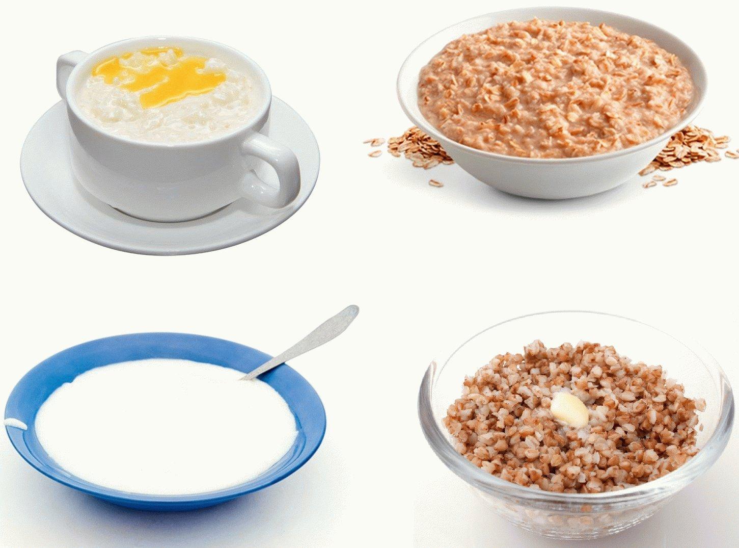 Какую кашу лучше кушать на диете