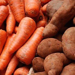 Сделайте сок из картофеля и моркови