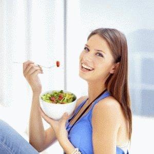 Употребление салата