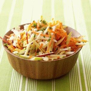 Яблочно-морковный салат