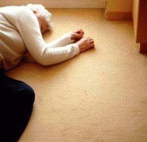 Больной потерял сознание