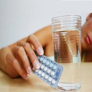 Приём оральных контрацептивов