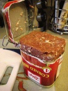 Мясные консервы вредны