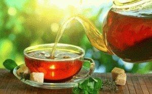 Сладкий чай допускается