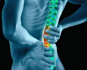 Боль в спине за желудком