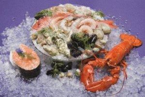 Морепродукты в диете