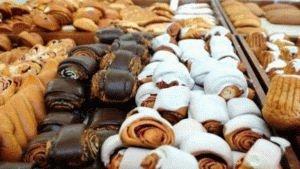 Сладкие хлебобулочные изделия