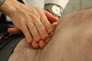 Прощупывание брюшной полости