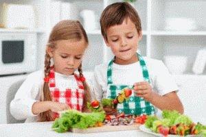 Правильное питание ребёнка