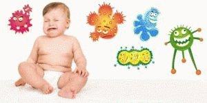 Микрофлора ребёнка