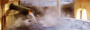 Горячая вода в ванночке