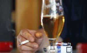 Вредные привычки у мужчины