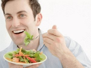 Овощная диета для мужчины
