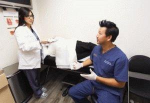 Геморрой у пациента