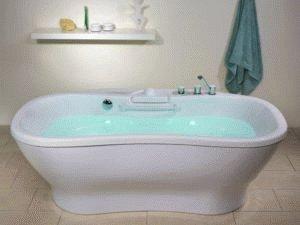 Тёплая вода в ванне
