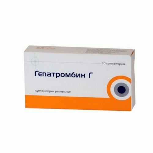 мазь от геморроя гепатромбин г отзывы
