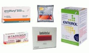 Антисептики для кишечника