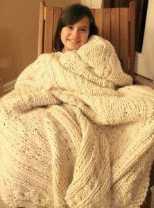 Укутайтесь в одеяло